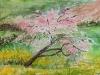 Erna Poppel, Blühender Baum