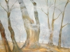 Margot Bauer, Nebelschleier und Bäume